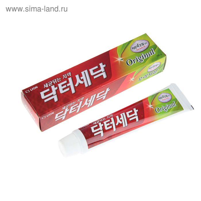 Зубная паста Dr. Sedoc Original экстрактом масла чайногодерева ,100 г