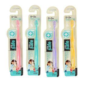 Зубная щетка Kids safe детская, 0-3 лет  микс