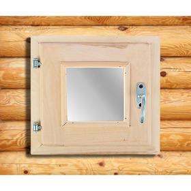 Окно, 30×30см, двойное стекло, из липы