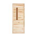 """Дверь для бани и сауны """"Банная"""" , 170х70см"""