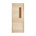"""Дверь со стеклом №2 170х70см, липа """"Добропаровъ"""""""
