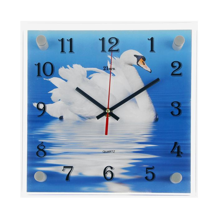 Wall clock, series: Animal World,
