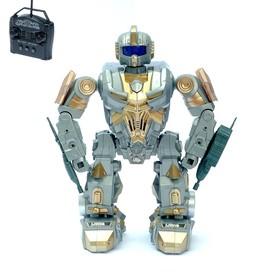 Робот радиоуправляемый «Боец», световые и звуковые эффекты, работает от батареек