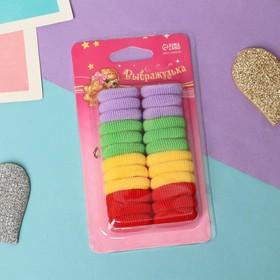 Резинки для волос 'Малышка' (набор 24 шт.), 4 цвета Ош
