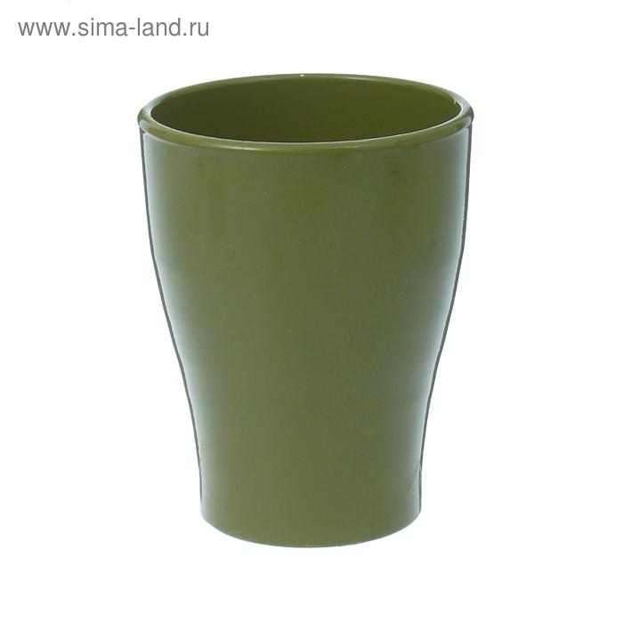 """Кашпо """"Ингрид"""" орхидейница, зелёное, глянец, 1,3 л"""