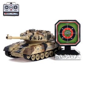 Танк радиоуправляемый «Т90», с аккумулятором, стреляет ВВ пулями