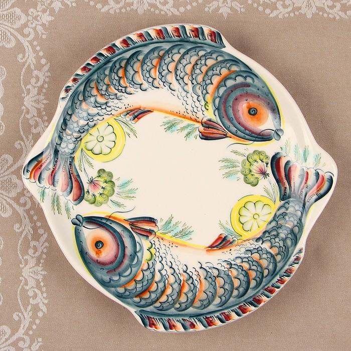 Тарелка «Донской пир», 30×30×3,5 см, 1 сорт