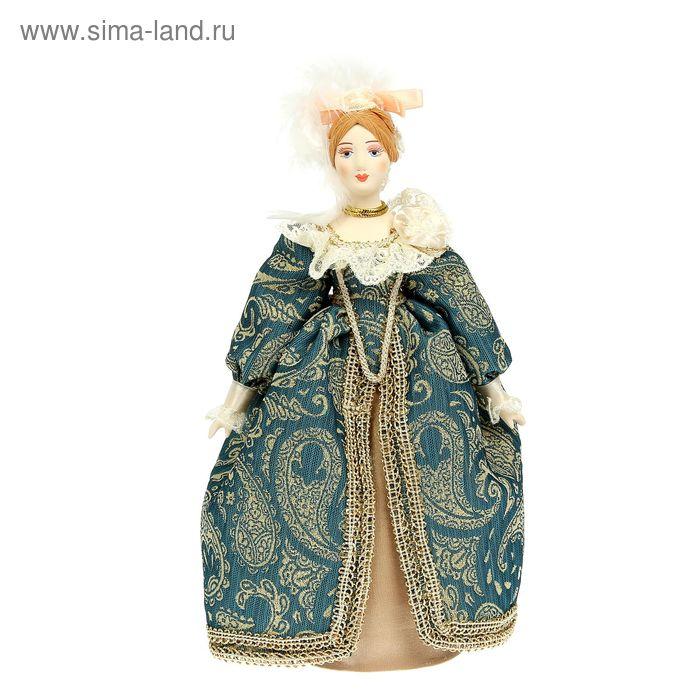 """Сувенирная кукла """"Дама в придворном костюме. нач. 18 в. Европа"""""""