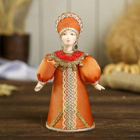 Сувенирная кукла 'Праздничный нарядный костюм. Русь' Ош