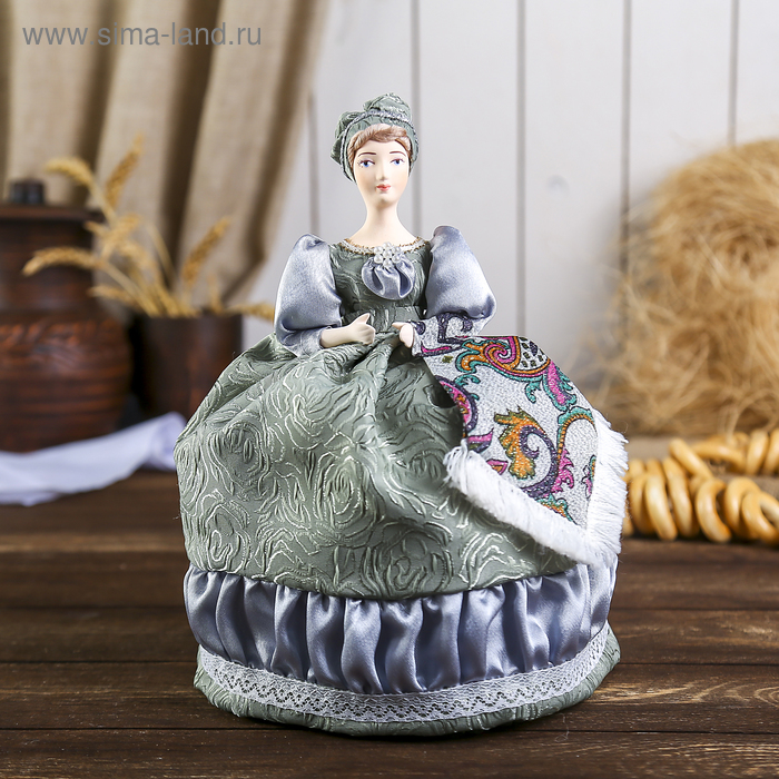 """Сувенирная кукла """"Купчиха"""" к. 19 — н. 20 в."""