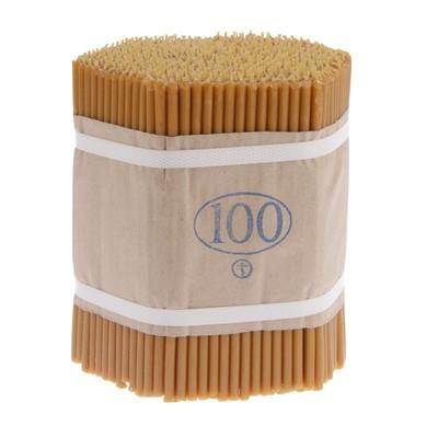 Свечи церковные восковые № 100, упаковка 2кг