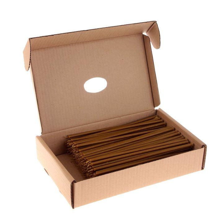 Свечи церковные восковые № 40, упаковка 2кг