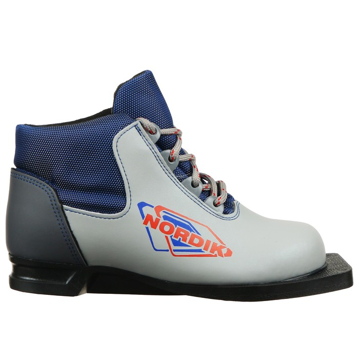 Spine Nordik boots, mount NN75, size 33.