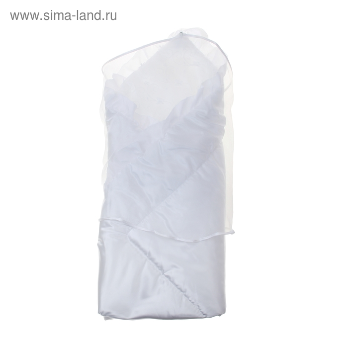 Комплект на выписку: 4 предмета, цвет белый