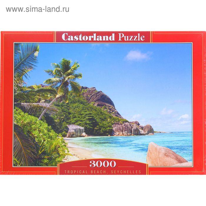 """Пазл """"Тропический пляж. Сейшелы"""", 3000 элементов"""