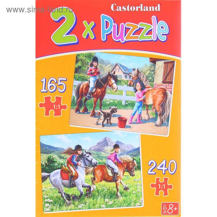 """Пазлы """"Верхом на лошади"""", 240 элементов"""