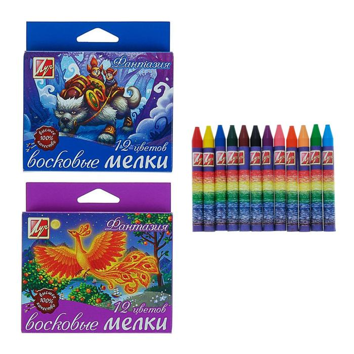 Crayons oil 12 flowers,