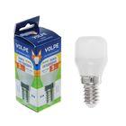 Лампа светодиодная Volpe, 3 Вт, Е14, 220-240 В, 3000 К, для холодильников