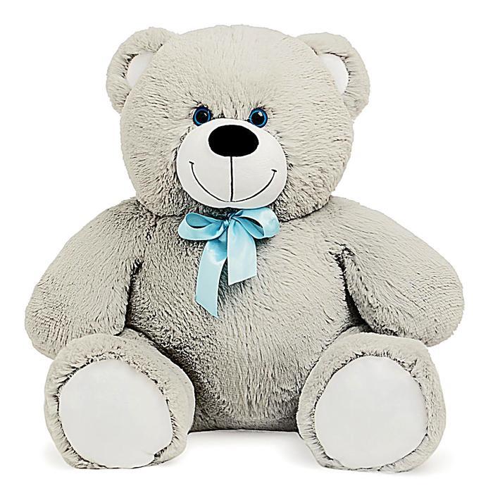 Мягкая игрушка «Мишка Кузя», цвет серый, 80 см, МИКС