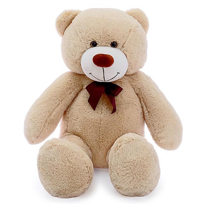Мягкая игрушка «Мишка Фёдор», цвет бежевый, 105 см