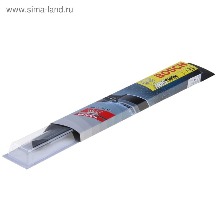 """Щётка стеклоочистителя Bosch Aerotwin, 15""""/38 см, бескаркасная, мультикрепление"""