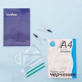 Notebook A4, 60 sheets cage on the crest of Succesful business, UV varnish, MIX
