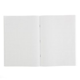 Notebook A4, 96 sheets cage, bumvinil, MIX