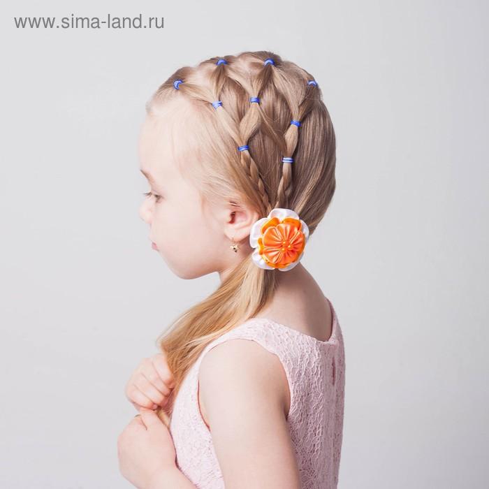 Набор резинок для волос, 200 шт., аромат манго, цвет синий