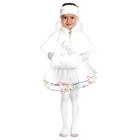 """Карнавальный набор для девочки """"Метелица"""", 3 предмета: пелерина, муфта, головной убор, цвет белый"""