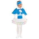 """Карнавальный набор для девочки """"Зимушка"""", 3 предмета: пелерина, муфта, головной убор, цвет голубой"""
