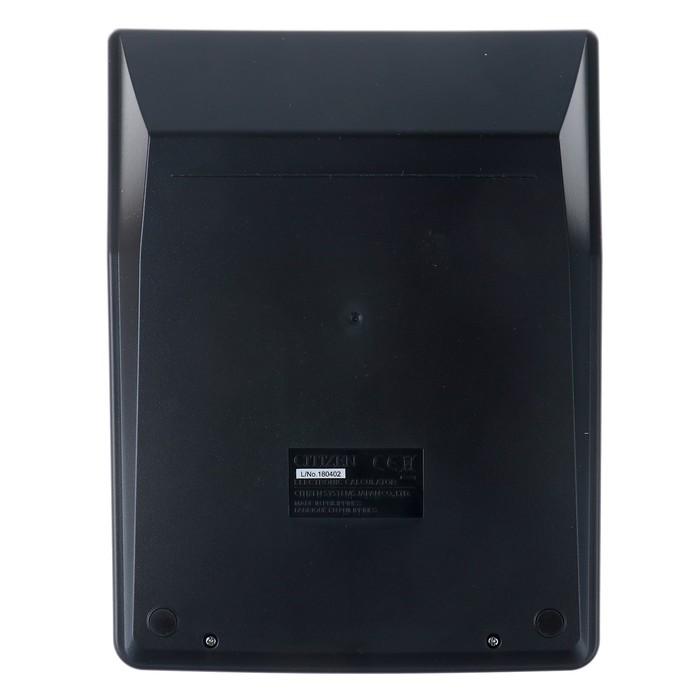Калькулятор настольный 16-разрядный SDC-664S, 153*199*31 мм, двойное питание, черный - фото 545242949