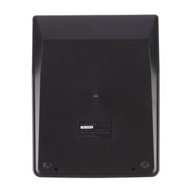 Desktop calculator 16-bit SDC-435N, dual power, black.