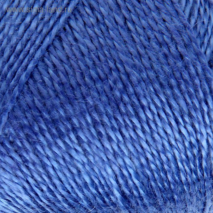 """Пряжа """"Шелковый блеск"""" 100% лиоцель(вискоза /эвкалипт) 400 м/100 гр (1326, аквамарин)"""