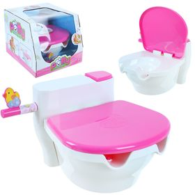 Pot for the baby music, accessories, imitation drain water and musical melody