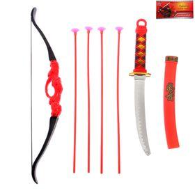 Набор ниндзя «Лучник», 7 предметов