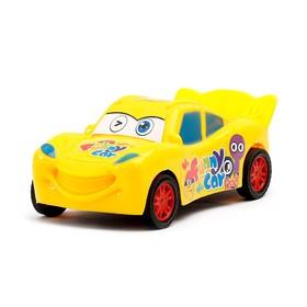 Машина инерционная «Глазастик», цвета МИКС