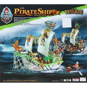 A set of pirates, the flying Dutchman