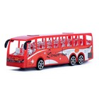 Автобус инерционный «Перевозчик», цвета МИКС - фото 105656653