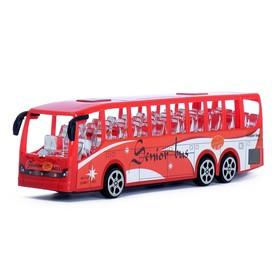 Автобус инерционный «Перевозчик», цвета МИКС