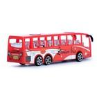 Автобус инерционный «Перевозчик», цвета МИКС - фото 105656655