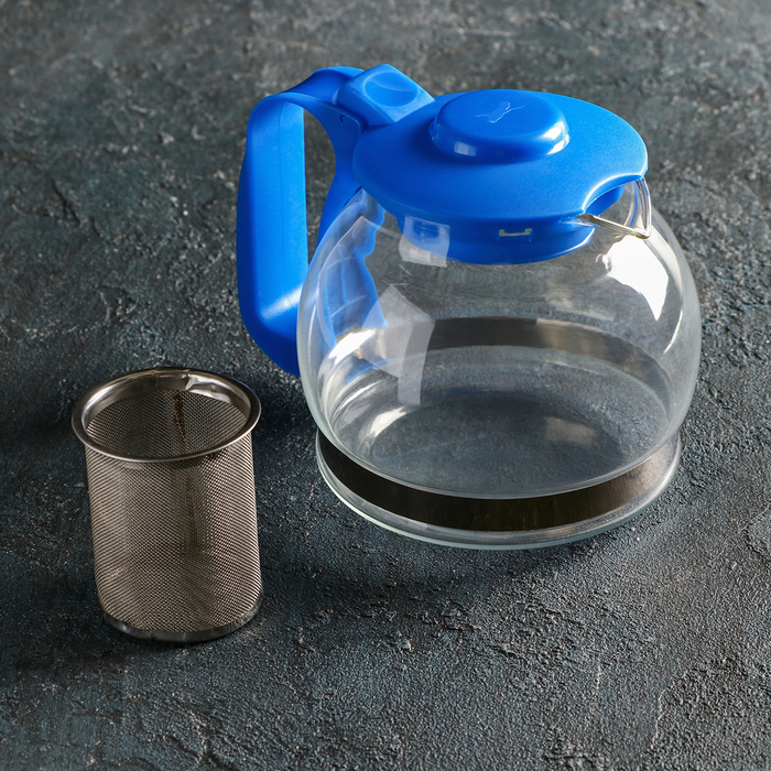 "Kettle glass tea pot 1.2 l ""Illusion"""