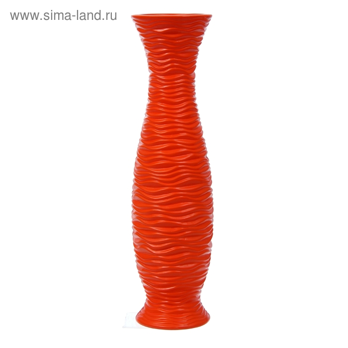 "Ваза напольная ""Волны"" оранжевая"