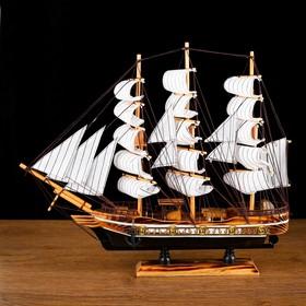 Корабль сувенирный средний «Атаго», микс, 38х44х7