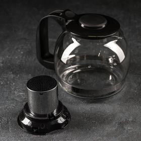 Kettle glass tea pot 750 ml Illusion, MIX color