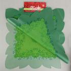 """Салфетка для цветов """"Эмели"""", салатовый зелёный, 60 х 60 см, 35 мкм"""