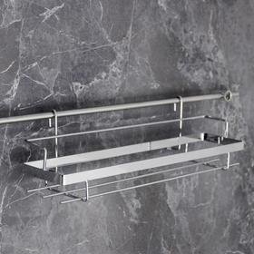 Полка на рейлинг Доляна, 38×11×11,2 см