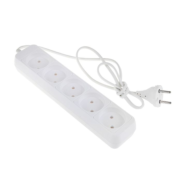 Five-seater extension cord