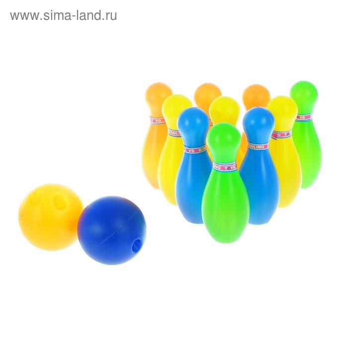 """Набор игровой """"Боулинг"""": 10 кеглей, 2 шара"""