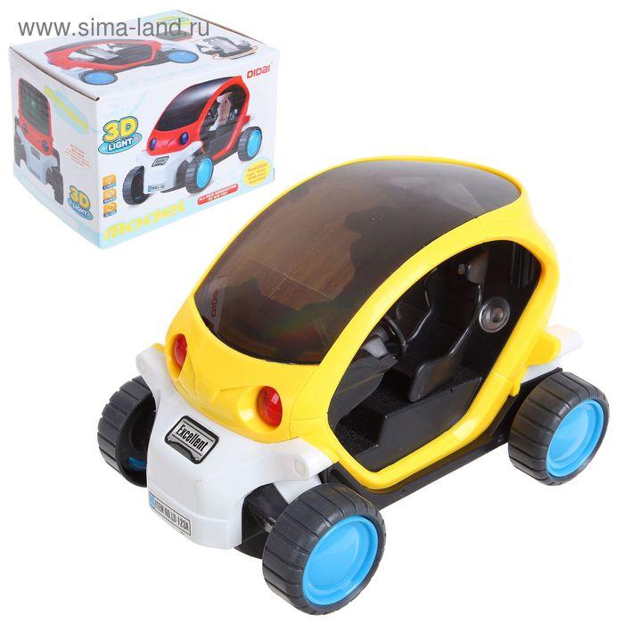 """Машина """"Космомобиль"""", работает от батареек, световые и звуковые эффекты"""