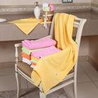 """Полотенце махровое """"Этель"""" Аморэ желтый 30*70 см, 100% хлопок, 400гр/м2"""